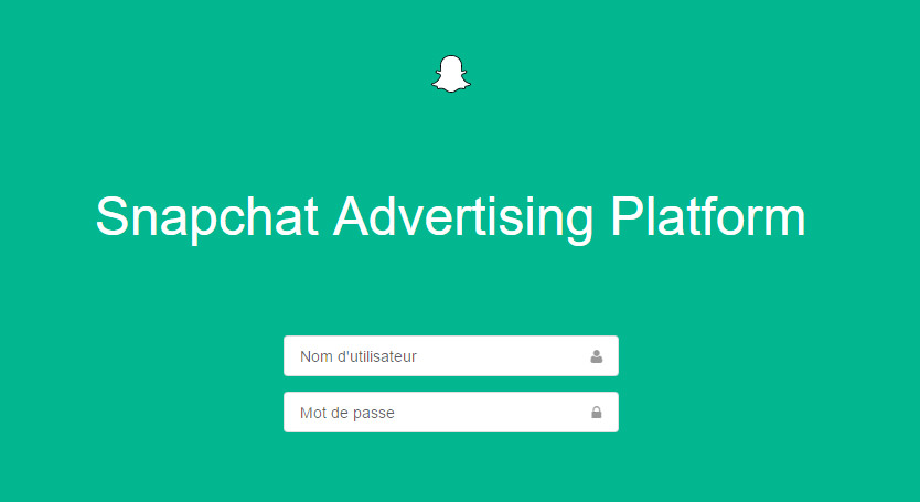 Snapchat Ad Manager - coups de coeur - conversationnel