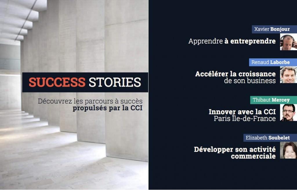 CCI Paris IDF Success Story