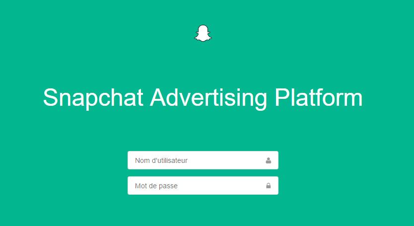 Snapchat Ad Manager - coups de coeur - conversationnel