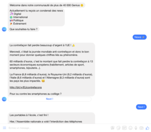 Chatbot Messenger Freshr