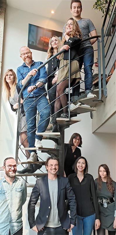 L'équipe de l'agence digitale et l'agence Chatbot de Conversationnel