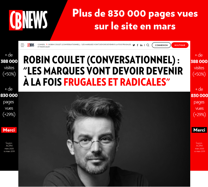 Robin Coulet - article CB News